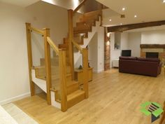 Image result for WOODEN TURNED STAIRCASE