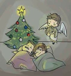 Dean and San winchester. Then I think Castiel