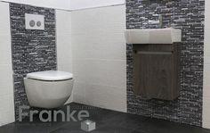 Praktische Gäste WC-Lösung. Möbelanlage Aico und Tiefspül-WC von Laufen. Die…
