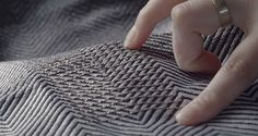 Project Jacquard - research fro smart textiles Smart Textiles, E Textiles, Wearable Technology, Science And Technology, Electronic Tattoo, Technical Textiles, Fabric Photography, Fabric Manipulation, Everyday Objects