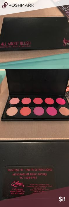 Blush Palette Glam Chick Blush Palette -- NEVER been used Makeup Blush