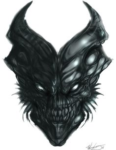 Demon SKull by MKounelakis on DeviantArt
