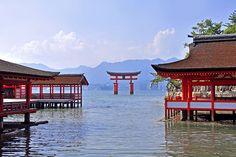 Itsukushima Shrine and Grand Torii Gate are the must-visit tourist destinations