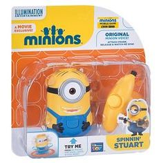 Despicable Me Spinning Stuart Minion