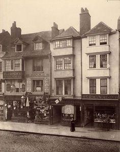1883年イギリス・ロンドンの町並みがわかる古写真