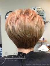 short stacked bob haircut back view MEMEs