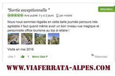Nouvel #avis pour notre #via #ferrata sur #Tripadvisor, rdv à la #viaferrata #sisteron www.viaferrata-alpes.com