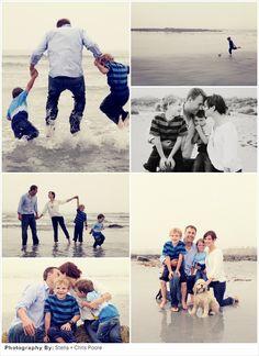 Spring Family Photo Idea: Beach Day