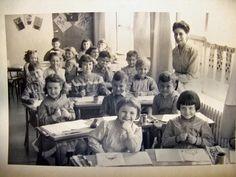 Photo de classe Ecole Jean Moulin de 1956 : Grande section maternelle 1956