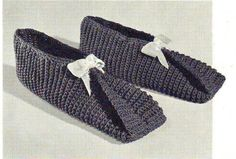 PDF Crochet Pattern - Traveller Slippers 2012117 by EunicesTickleTrunk on Etsy