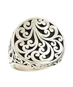 Lois Hill Swirl Ring - Max and Chloe