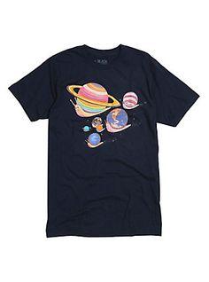 Snail Space T-Shirt, NAVY