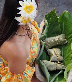 Mujer y Tamales  Fiestas del Maiz , Sonson Antioquia Colombia