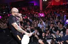 Lead-up to Super Bowl LII - February 3, 2018.  WITH THE FLO -  Flo Rida performs at the 15th Annual Leather and Laces Super Bowl Party on Feb. 2 in Minneapolis.