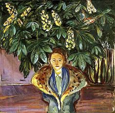 Under the Chestnut Tree - Edvard Munch