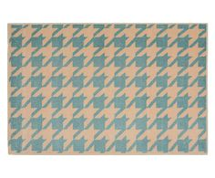 Tapete Italy Houndstooth Verde - 150X200cm