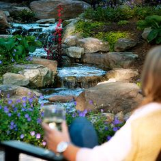 Waterfalls & Pond-free Water Features by Atlantic Water Gardens