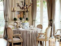 this is the picture I have had in my idea file for my new dining room for years.  Finally this year it will begin:)