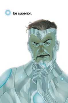 Superior Iron Man (Tony Stark) (Iron Man Armor Model 50) | art by Phil Noto