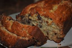 Moist Chocolate Chip Banana Bread Recipe - Creamty Recipes - All food recipe network