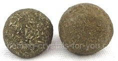 A pair of male and female Boji Stones