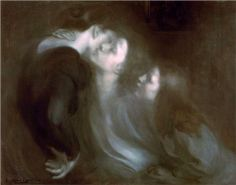 Her Mother's Kiss 1899 - Eugene Carriere