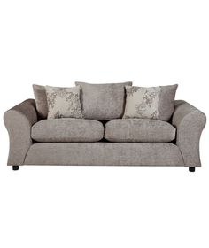 Buy Clara Large Fabric Sofa - Mink at Argos.co.uk - Your Online Shop for Sofas.