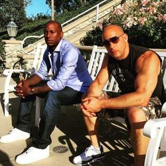 Tyrese and Vin
