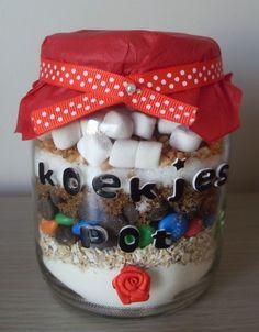 recept in potje - bakken | Pot vol 'bijna' koekjes! (Pagina 1) - Klein & fijn: Cupcakes, koekjes ...