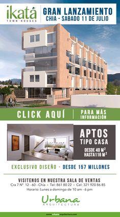 #NOVOCLICK esta con #Ikata #Chia Casas tipo apartamento