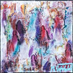 NEW PAINTING !  Mini Abstracts XIV  30x30 cm  My website: http://artbylonfeldt.dk/en  #art #paintings #artbylonfeldt
