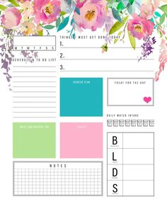 The Best 2019 Free Printable Planner to Organize Your Life! /// Pages - The Cottage Market The Best 2019 Free Printable Planner to Organize Your Life Pages is waiting for you at The Cottage Market! It will totally organize your New Year! Planner Board, To Do Planner, Daily Planner Pages, Daily Planner Printable, Free Planner, Planner Layout, Planner Template, Weekly Planner, Happy Planner