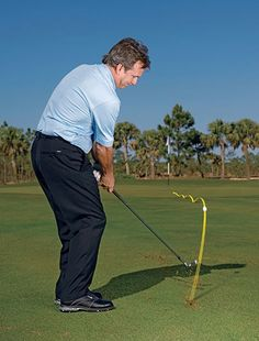 As every good golfer knows the short game is definitely an important factor of ones overall game. Here are some very beneficial golf chipping tips designed to assist you to boost your short game and d Short Game Golf, Golf Handicap, Golf Chipping Tips, Golf Instruction, Golf Tips For Beginners, Perfect Golf, Golf Training, Golf Quotes, Golf Sayings