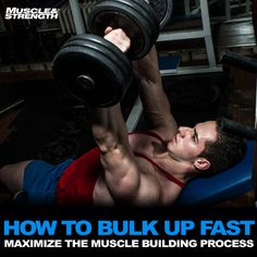 How To Bulk Up Fast: Maximize The Muscle Building Process Fitness &.,Health,Health and Fitness, York Fitness, Fitness Goals, Fitness Motivation, Men's Fitness, Lifting Workouts, Fit Board Workouts, Workout Tips, Bodybuilding Workouts, Bodybuilding Motivation