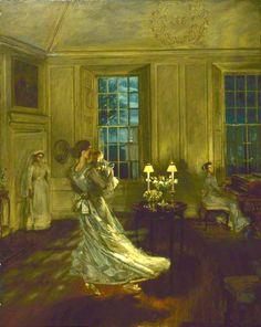 Spring Moonlight by John Henry Lorimer