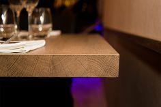 Détail de table du restaurant