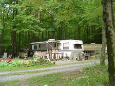 Hilltop Farm Campsites at Mountaindale, New York