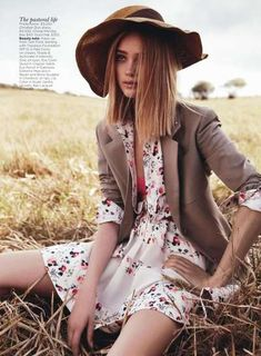 Country-Chic Editorials : Rosie Tupper Field of Dreams