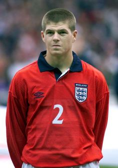Steven Gerrard retires: from schoolboy to soccer legend: England debut Gerrard made his international debut for England in a friendly win against Ukraine on May 31 at the age of France Football, England Football, England National, European Soccer, National Football Teams, Steven Gerrard, Zinedine Zidane, Chelsea Fc, School Boy
