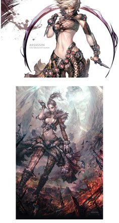 Artes de Hyojin Ahn para o game Guild Wars 2 Guild Wars 2, Fantasy Rpg, Fantasy Girl, Female Character Design, Character Art, Fantasy Characters, Female Characters, Warrior Girl, Fantastic Art