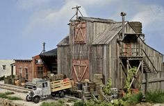 On30 Logging Railroads   Railroad Line Forums - Blue Sky/Riverside Logging Co diorama final ...