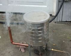 How To Build A Cold Smoke Generator For Smoking Meats | http://homestead-and-survival.com/how-to-build-a-cold-smoke-generator-for-smoking-meats/