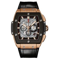 "One of the great new pieces announced for the start of 2014: Hublot unveils a BIG BANG with a tonneau case It is the aptly named ""Spirit of Big Bang"" (Video) HUBLOT Spirit of Big bang (See more at En/Fr/Es: http://watchmobile7.com/articles/hublot-spirit-big-bang) (8/9) #watches #hublot #hublotwatches @Hublot Watches"