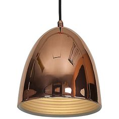 Classic meets contemporary in the Access Lighting Essence Pendant. Uniting an anything-but-old-fashioned Copper finish with a sleek modern silhouette, it brings warmth, shine and sophistication to kitchen islands and work spaces. This arresting suspension light is designed with a matching Copper canopy and includes a 10-foot cord.