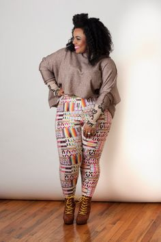 Nakimuli - DECODED LEGGINGS CURVY