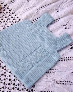 yeni-doan-oru-suveterler – Knitting world Crochet Baby Cardigan, Crochet Baby Sandals, Knit Baby Dress, Knitted Baby Clothes, Baby Knitting Patterns, Knitting For Kids, Baby Dress Pattern Free, Baby Dress Patterns, Slip Stitch Crochet