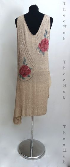 champagne & oysters roaring 20s bead dress from thee hub