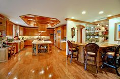 Beautiful wood kitchen