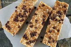 PB2 Quinoa Granola Bars {Gluten-Free, Dairy-Free, Vegan, Low-FODMAP}  /  Delicious as it Looks