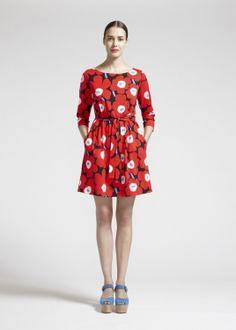 アイテム|クロージング|2014 Spring|WOMEN|Dresses and Skirts |Marimekko (マリメッコ) 日本公式サイト